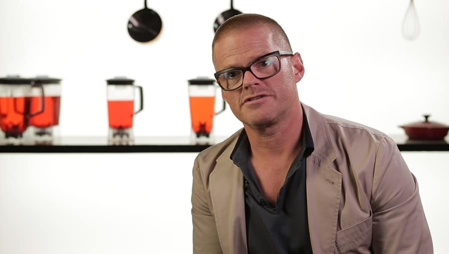Heston Blumenthal Interview Video