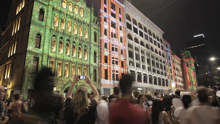 White Night Melbourne 2013 Video