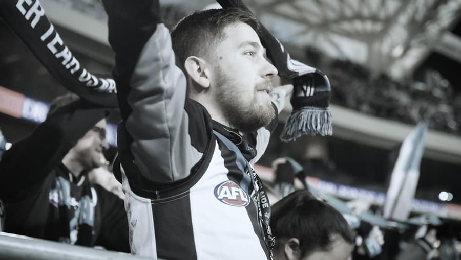 Still from Port Adelaide Football Club membership commercial edited by Luminaire Pictures.