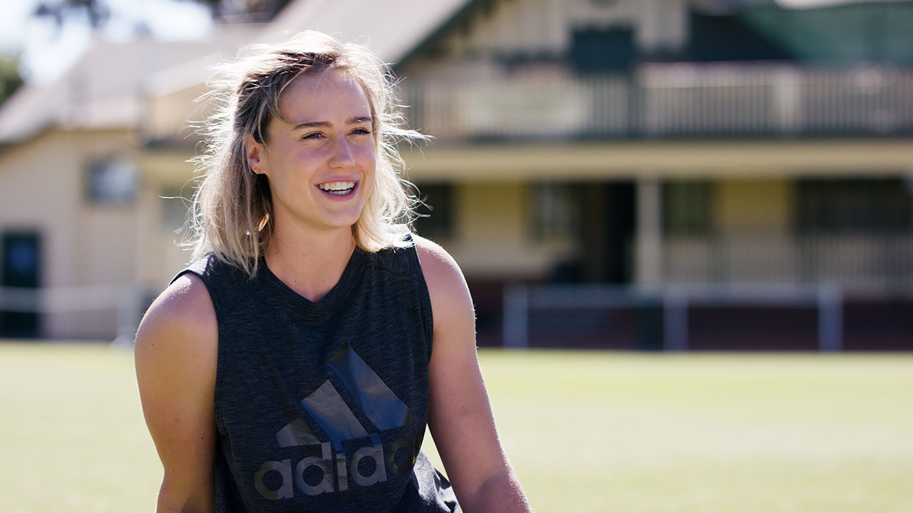 Ellyse Perry Adidas Video Interview