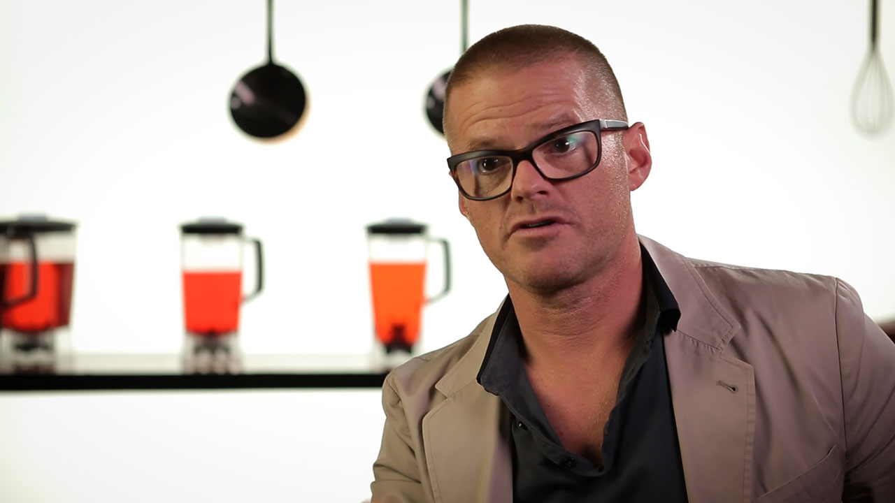 Heston Blumenthal Video Interview